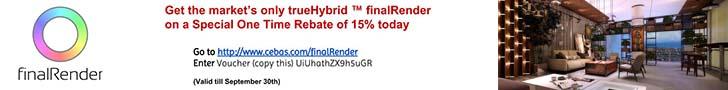 finalRender 15% Off Sale